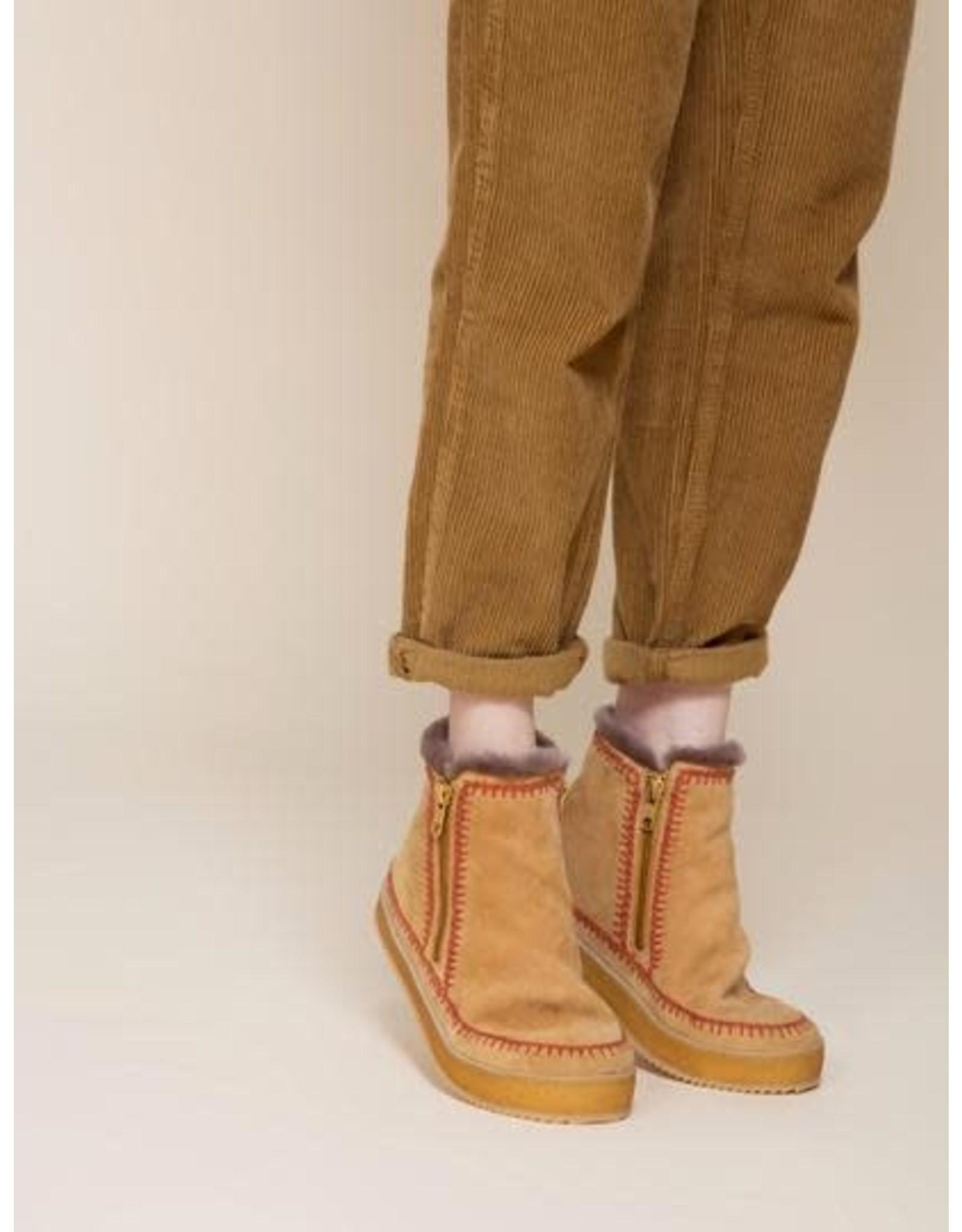 laidback london Laidback London - Setsu crochet (saffron / rust)