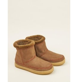 laidback london Laidback London - Nyali crochet pull on ankle boot (camel)