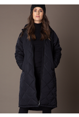 Yest Yest - Quilted coat with hood (black)