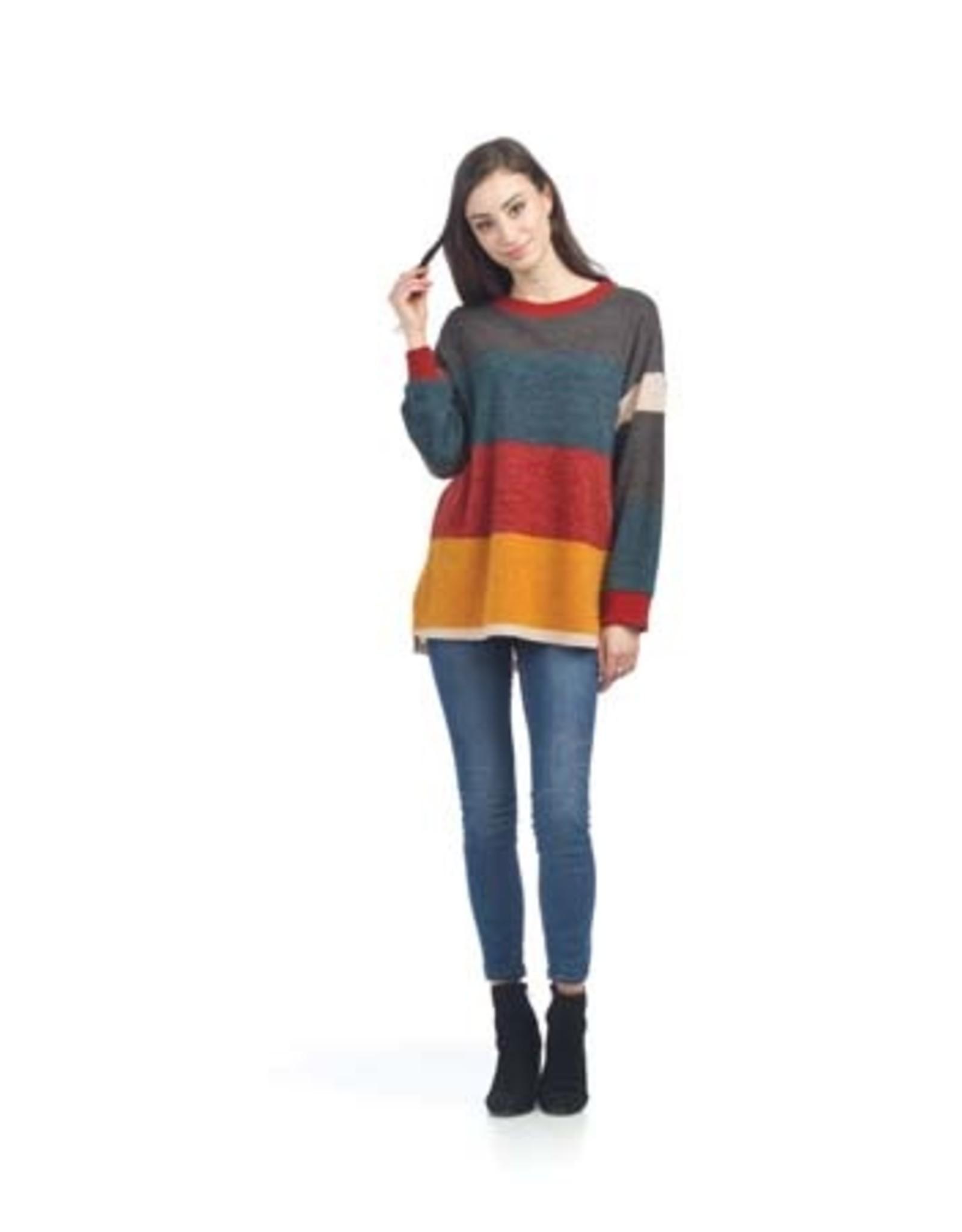 Papillon Papillon - Colourblock sweater