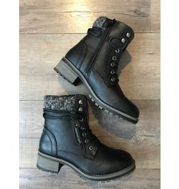 Taxi Taxi - Kennedy water resistant boot (black)