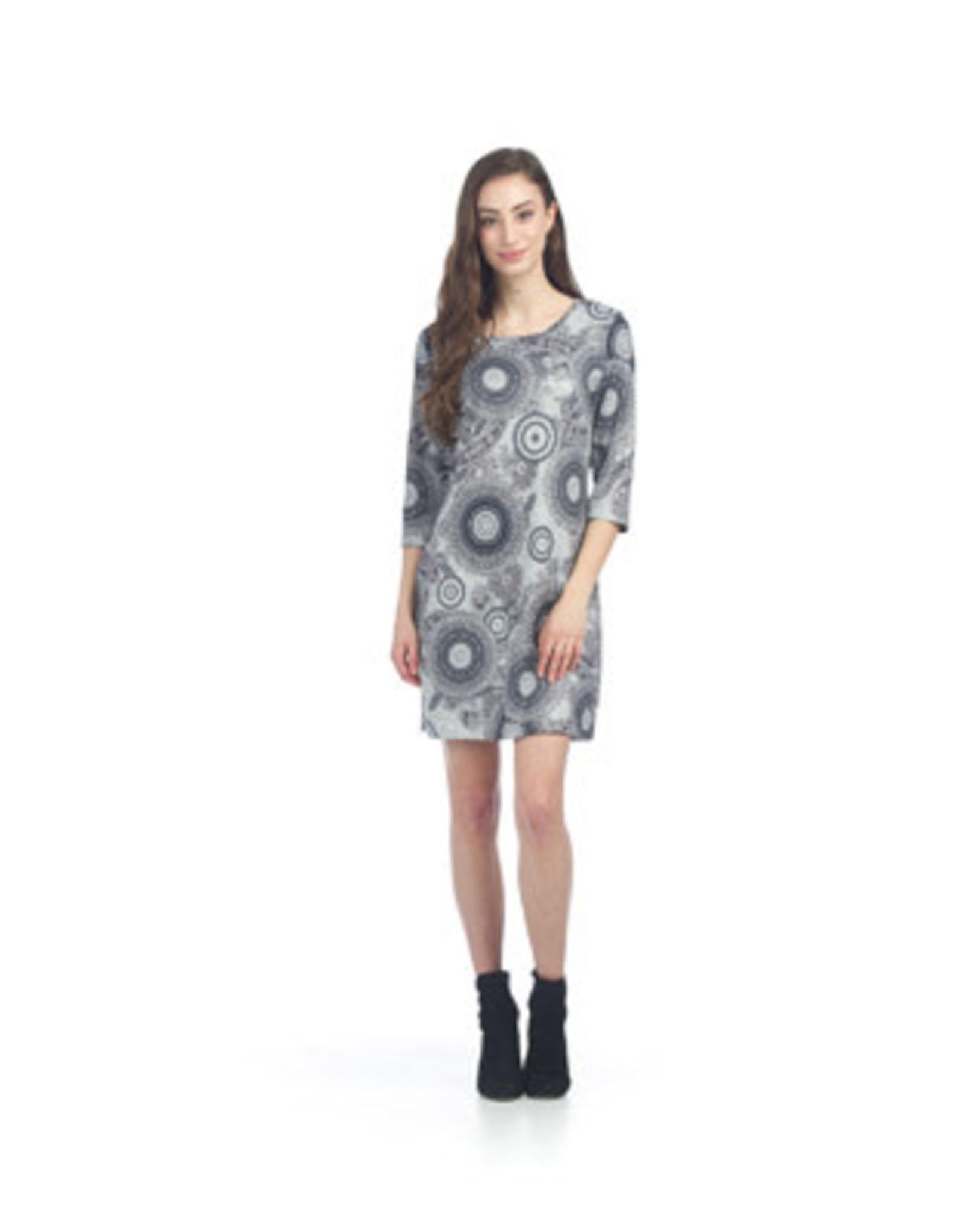 Papillon Papillon - Medallion print sweater dress