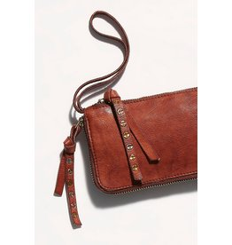 Free people Free People - Distressed wallet (cognac)
