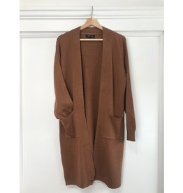 Papillon Papillon - Camel cardigan with pockets