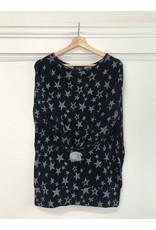 Papillon Papillon - Star banded sweater