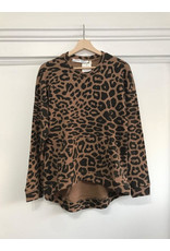 Luna Blue RD Style - Knit pullover (leopard)