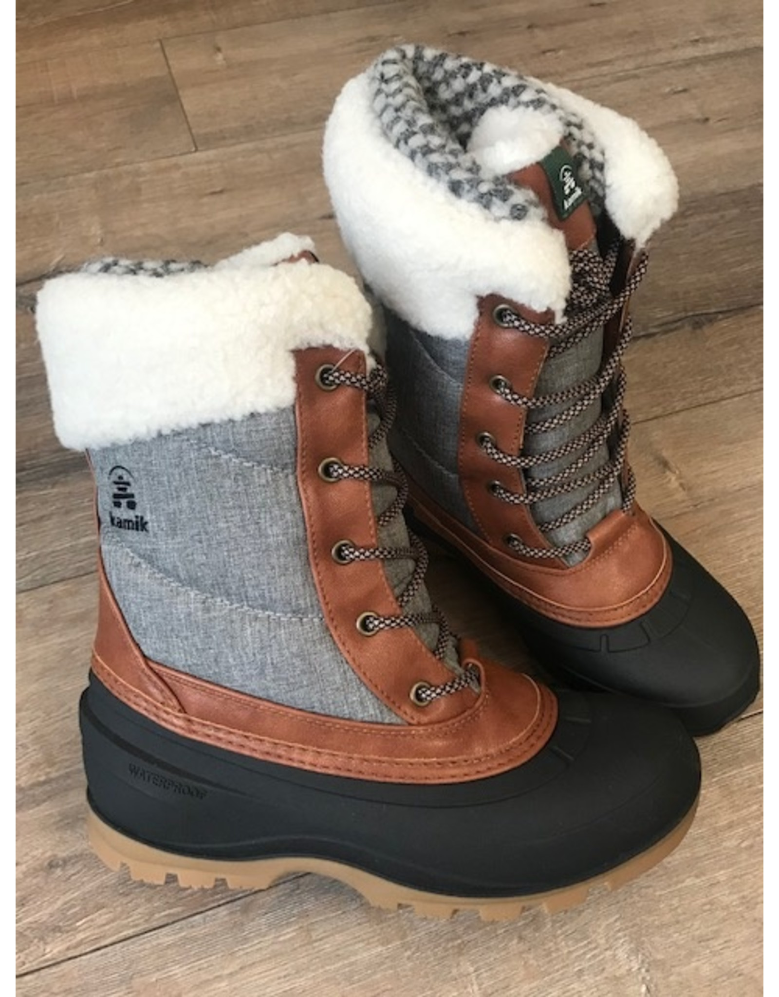 Kamik Kamik - Snowpearl winter boot (charcoal)