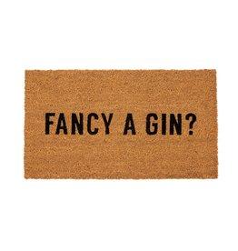Indaba indaba - Fancy a Gin doormat