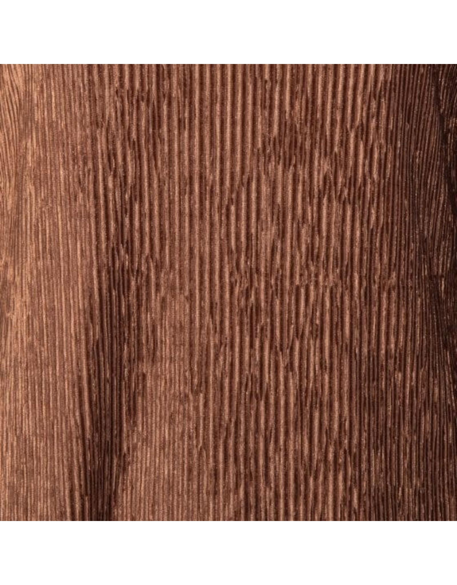 EsQualo EsQualo - Ribbed velvet top