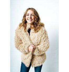Molly Bracken Molly Bracken - Woven jacket (beige)