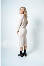 Luna Blue RD Style - Knit skirt (oatmeal)