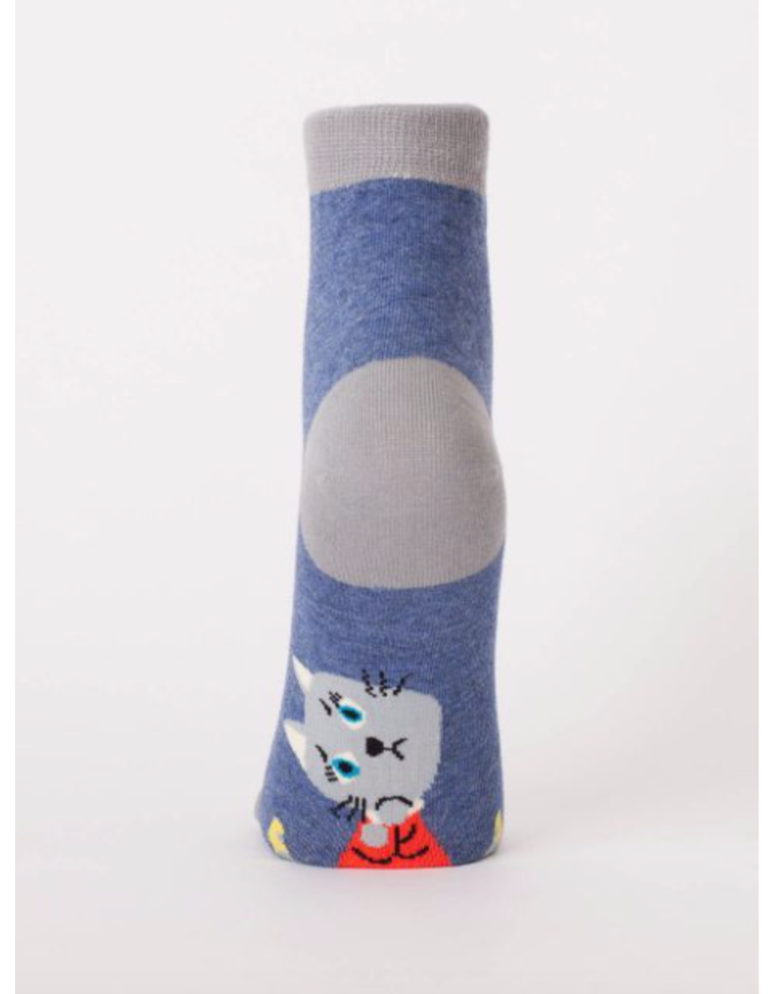 Blue Q Blue Q - The Universe is Kind of a D!ck ankle socks