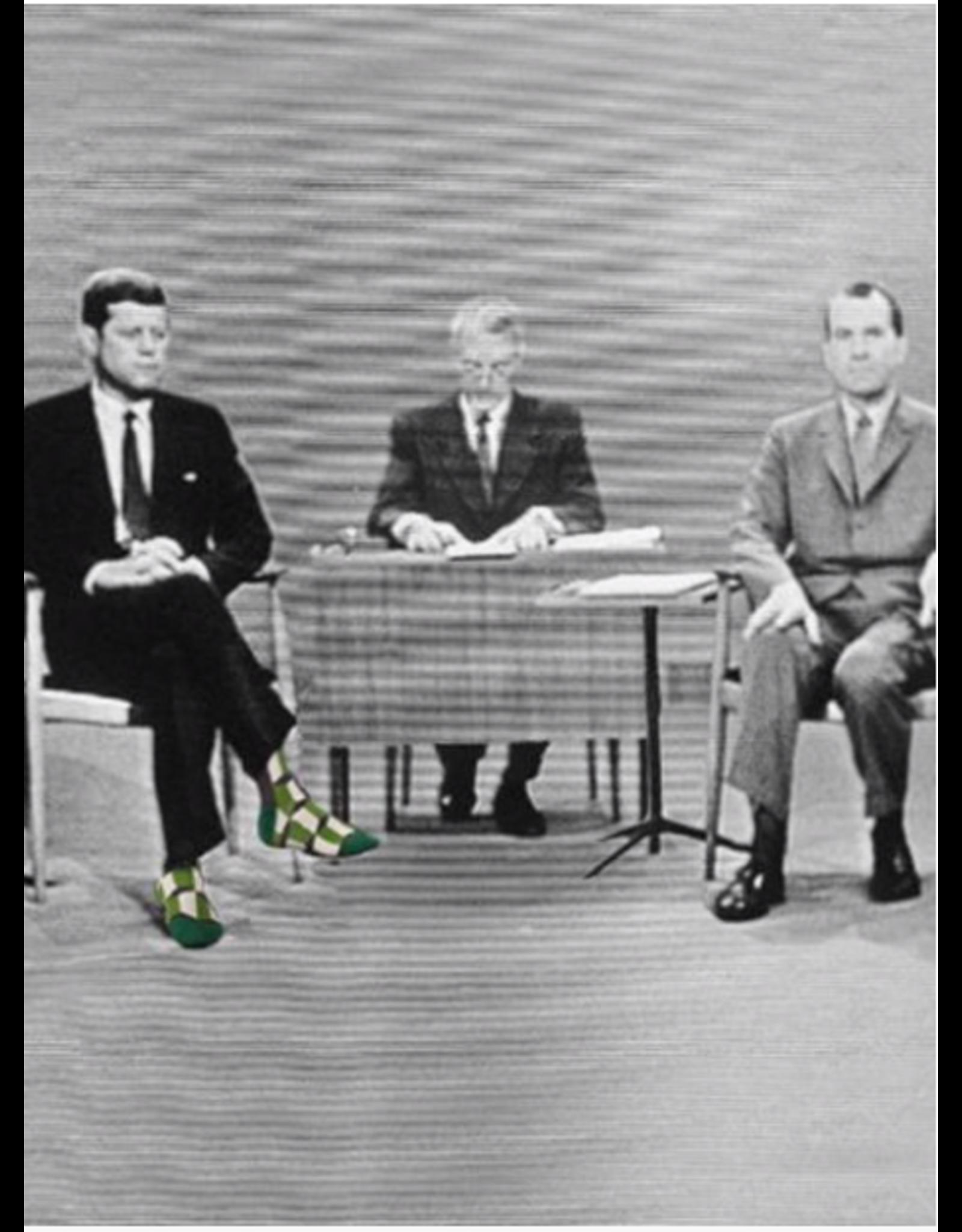 Blue Q Blue Q - This Meeting is Bullsh!t crew socks (men's size)