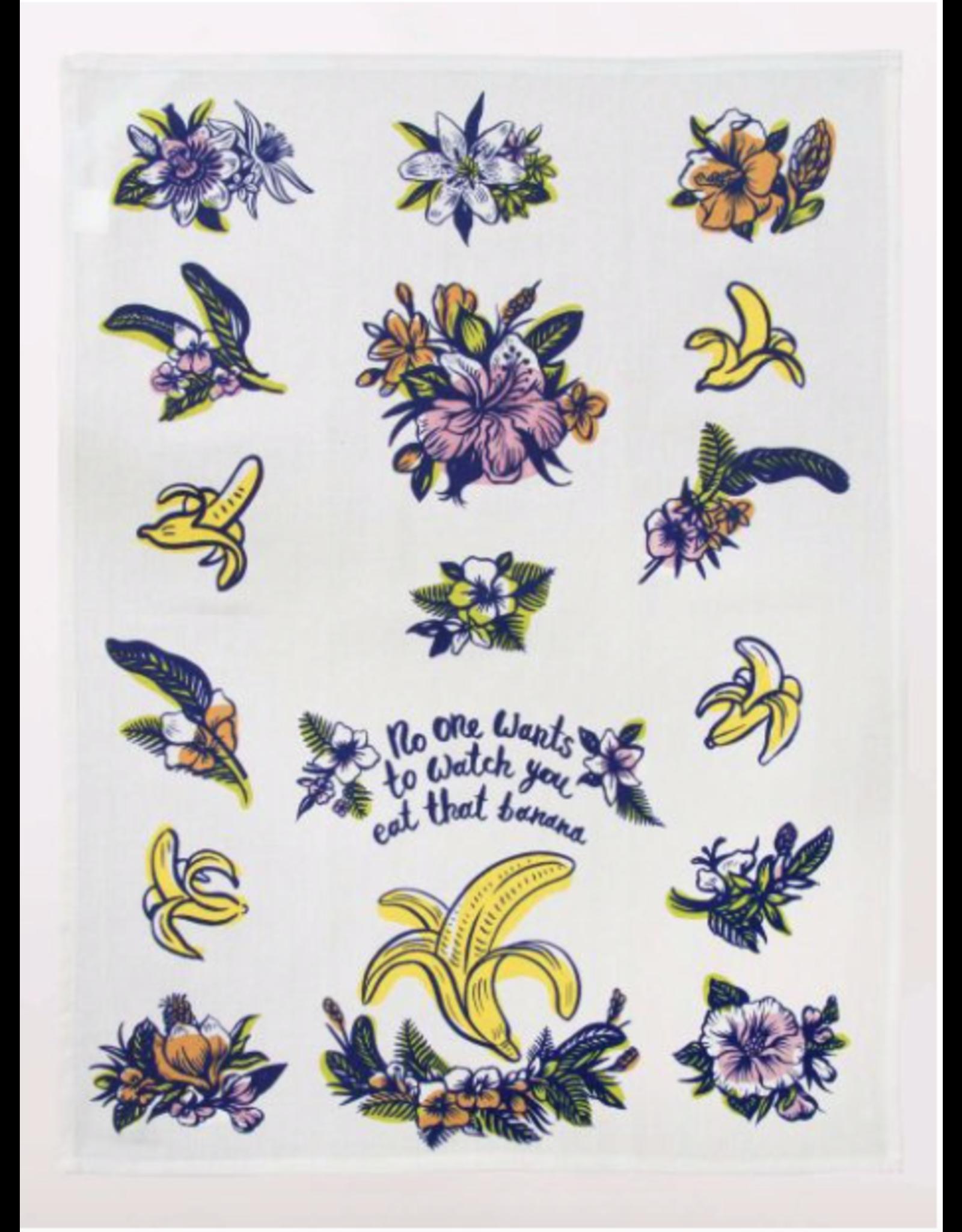 Blue Q Blue Q - Eat that Banana dish towel