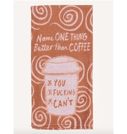 Blue Q Blue Q - Better Than Coffee dish towel