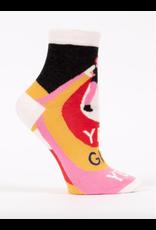 Blue Q Blue Q - Yes, Girl, Yes ankle socks