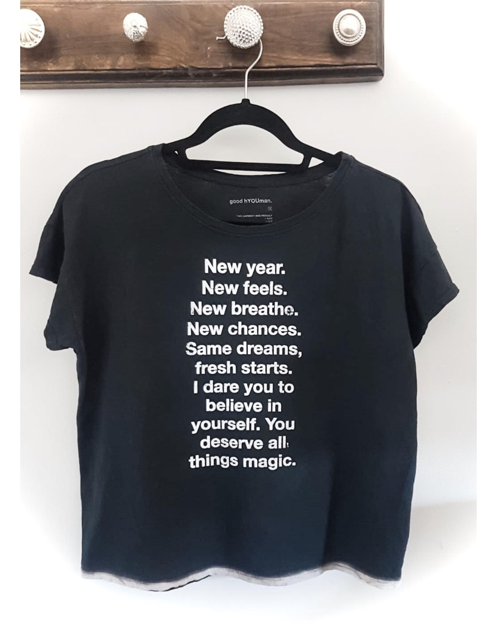 good hYOUman good hYOUman - New Year shirt