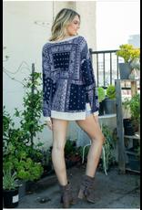 Exton - Paisley print boxy tunic