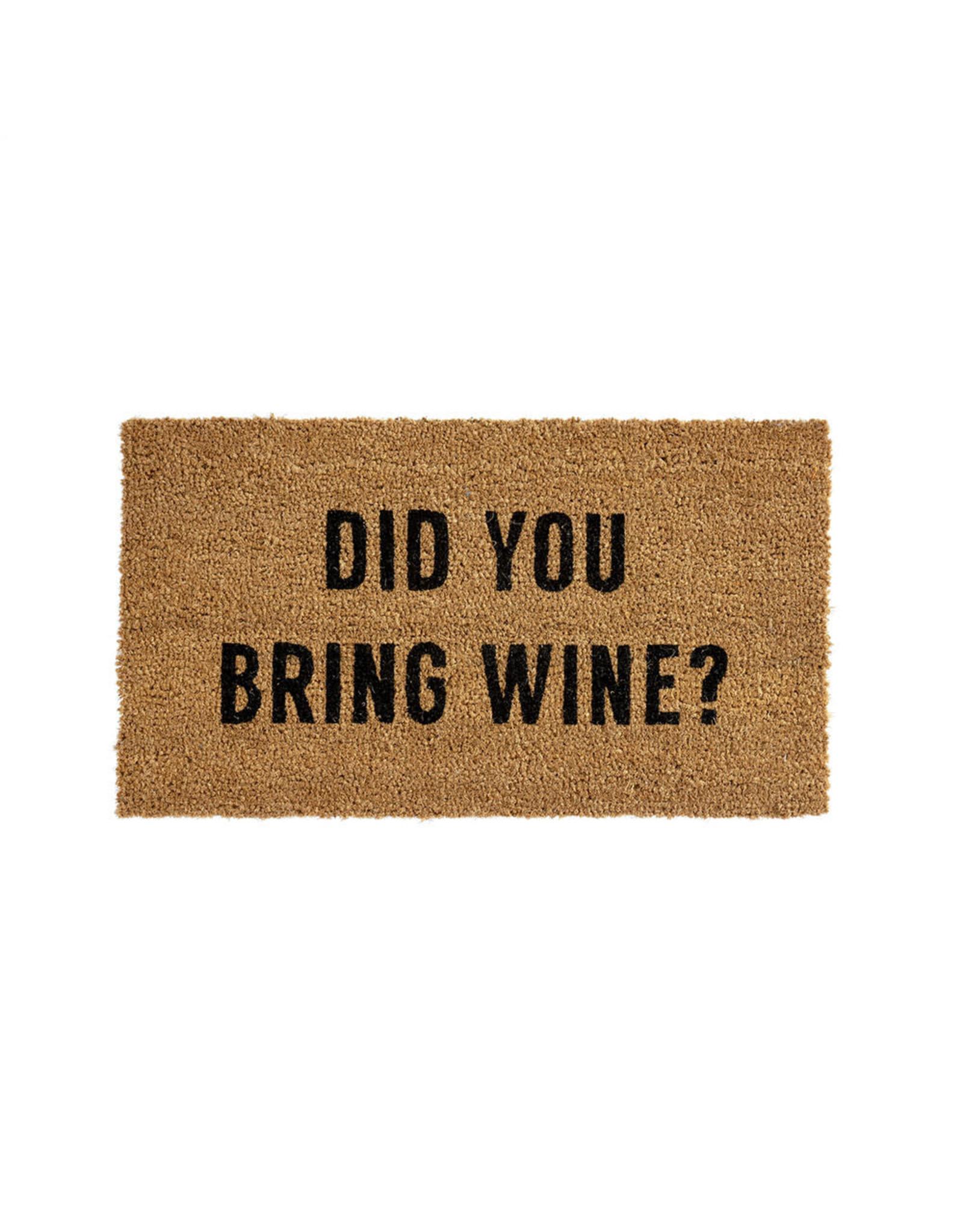 Indaba indaba - Did You Bring Wine doormat