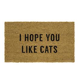 Indaba indaba - Hope You Like Cats doormat