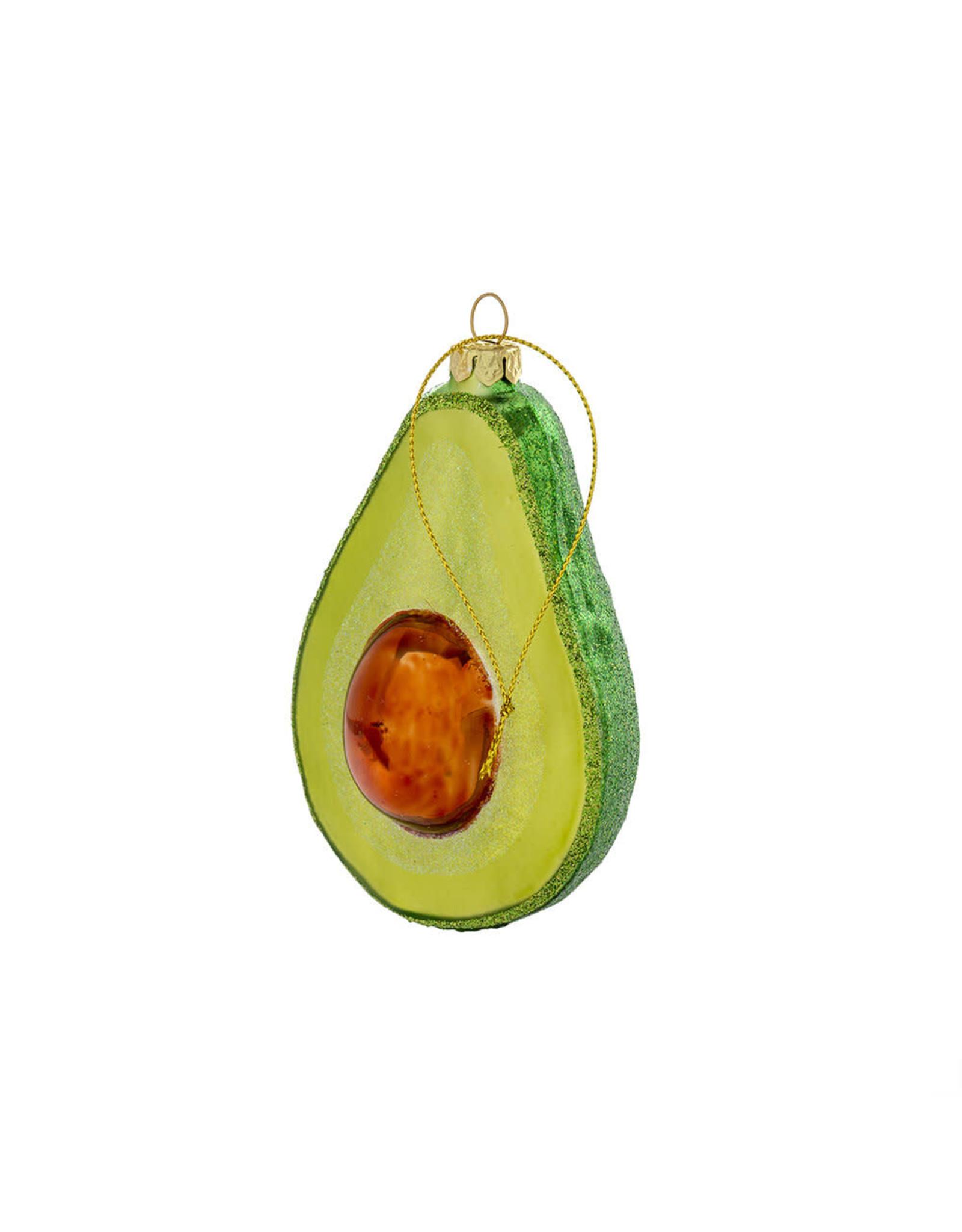 Indaba indaba - Festive Avocado ornament