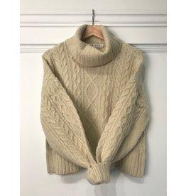 RD Style RD Style - Myra rollneck sweater (white beach)
