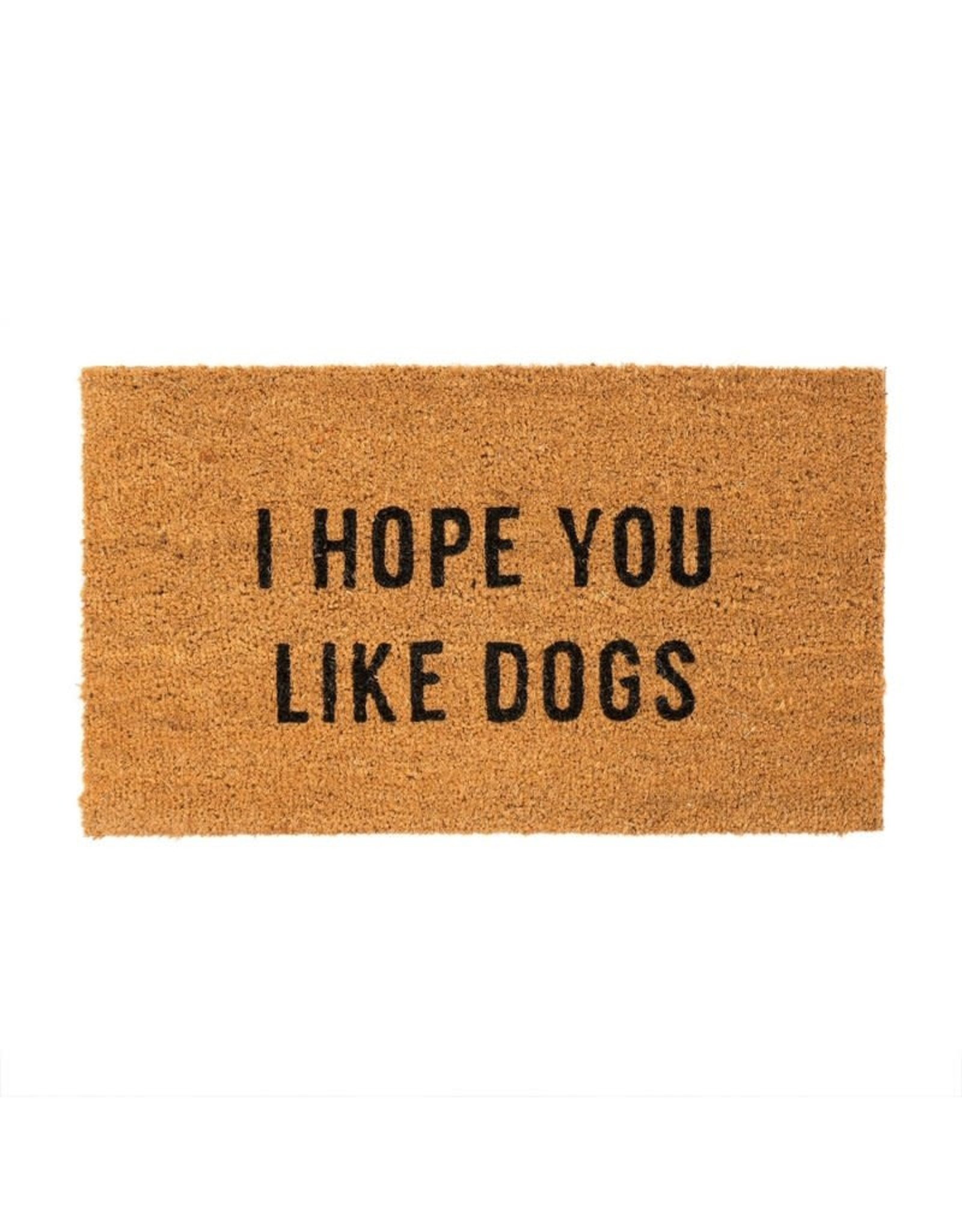 Indaba indaba - Hope You Like Dogs doormat
