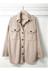 Oakley - Teddy bear shirt jacket (stone)