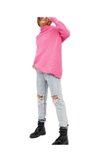 Free people Free People - Ottoman slouchy tunic (electric pink)