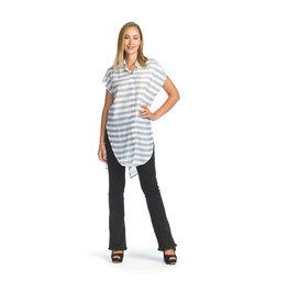 Papillon Papillon - Striped collared shirt