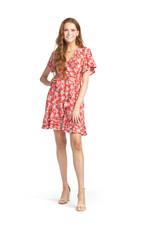 Papillon Papillon - Floral wrap style dress