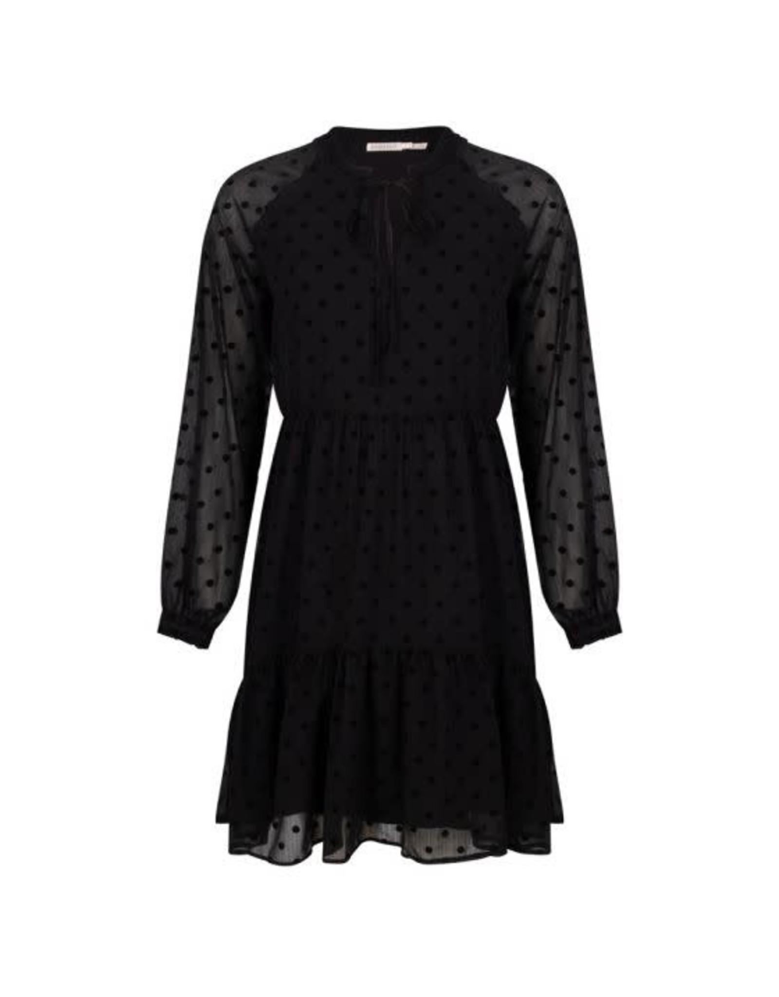 EsQualo EsQualo - Dotted dress