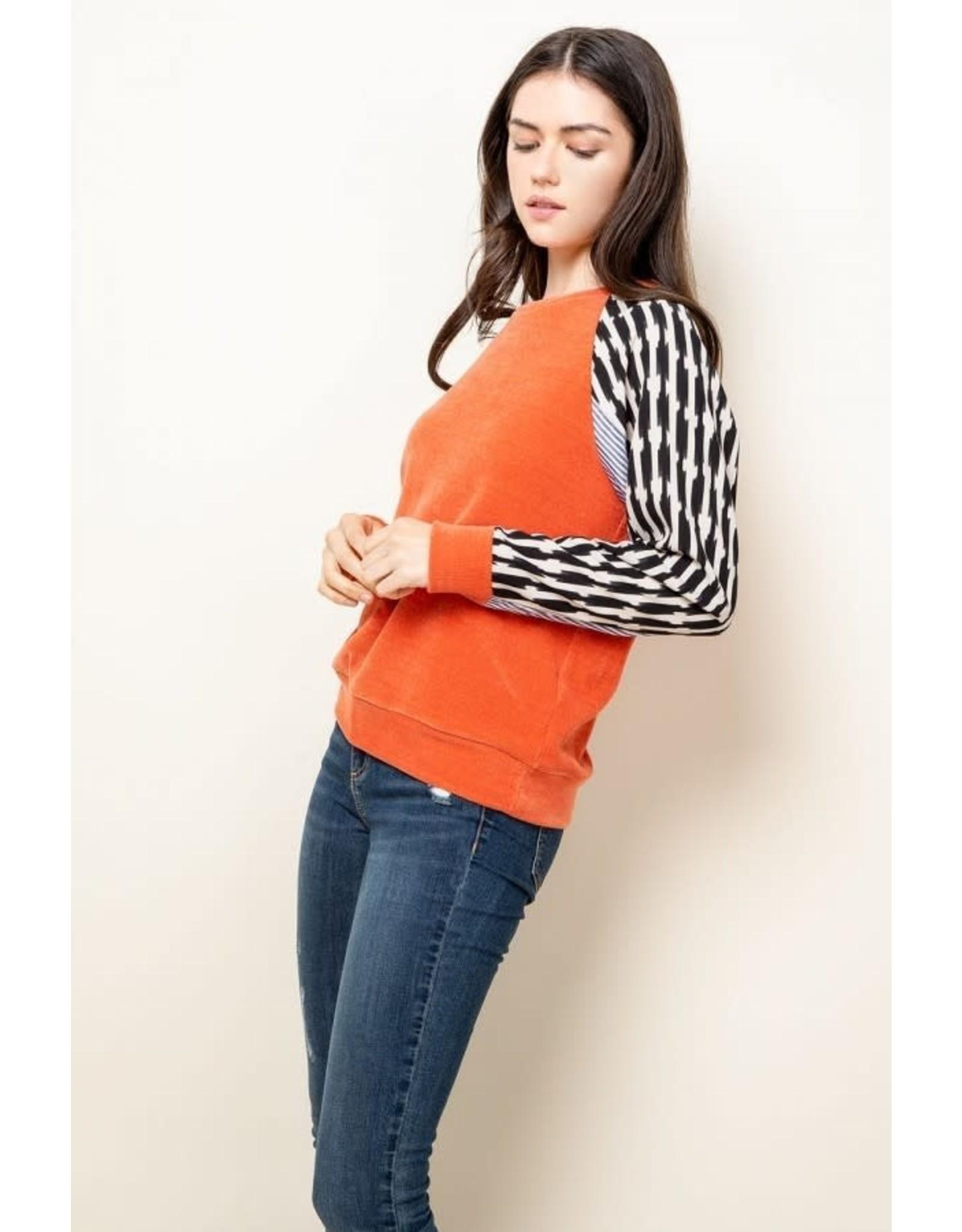 Sage - Long sleeve top