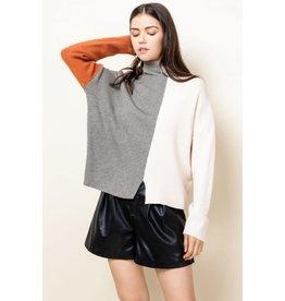 Ruby - Colourblock sweater