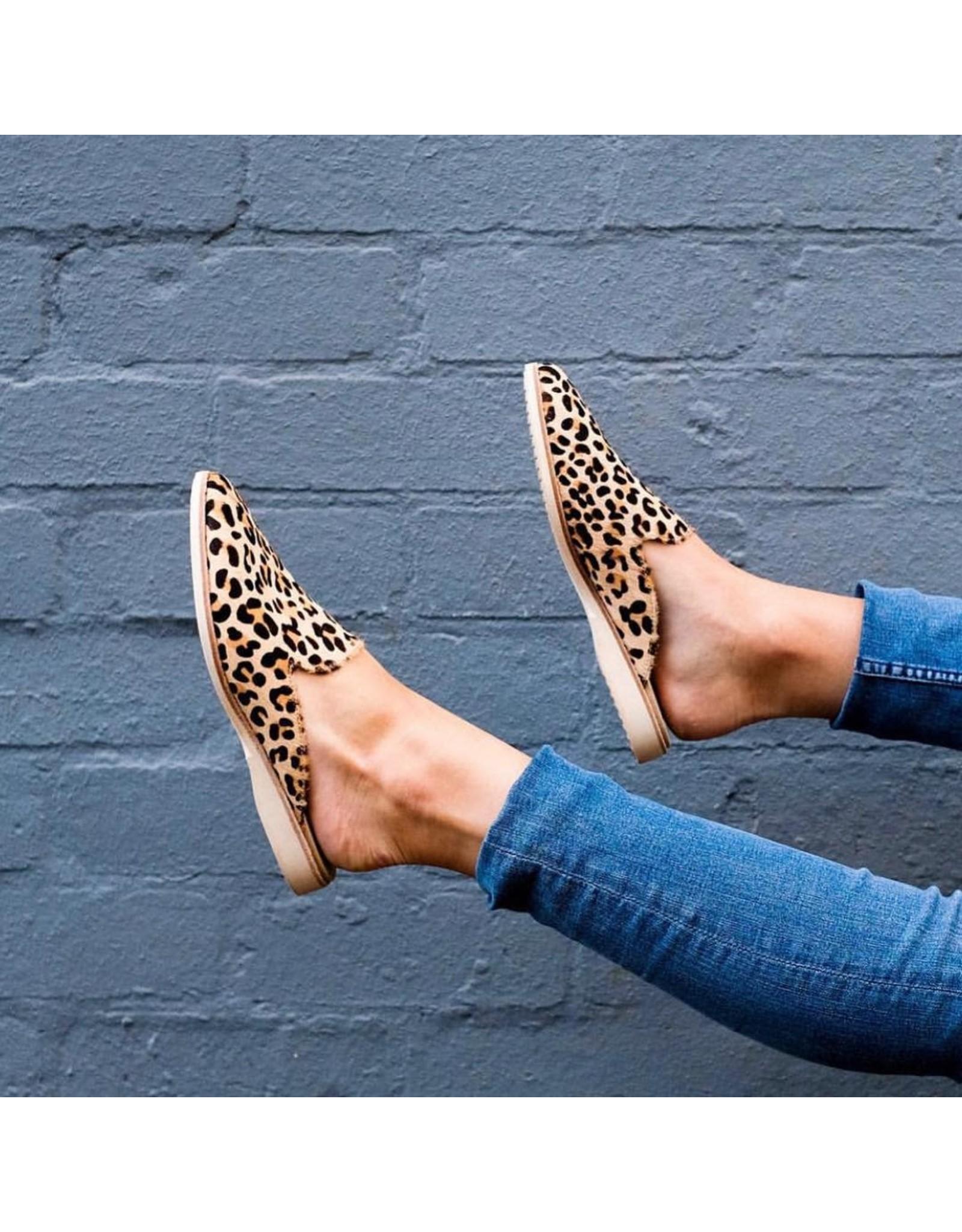 Rollie Shoes Rollie - Madison Mule (camel leopard)