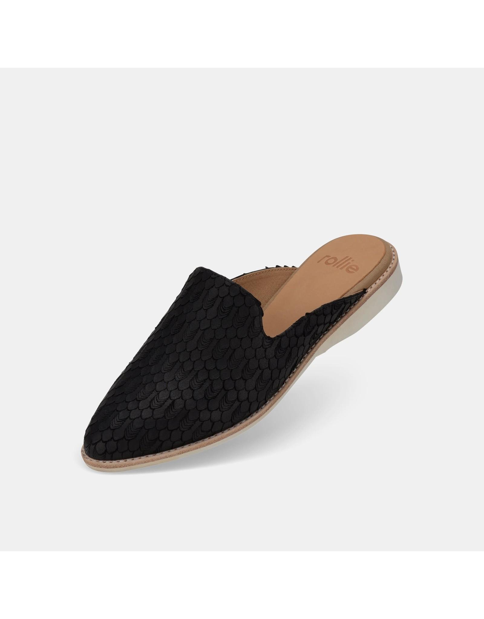 Rollie Shoes Rollie - Madison Mule (black geo)