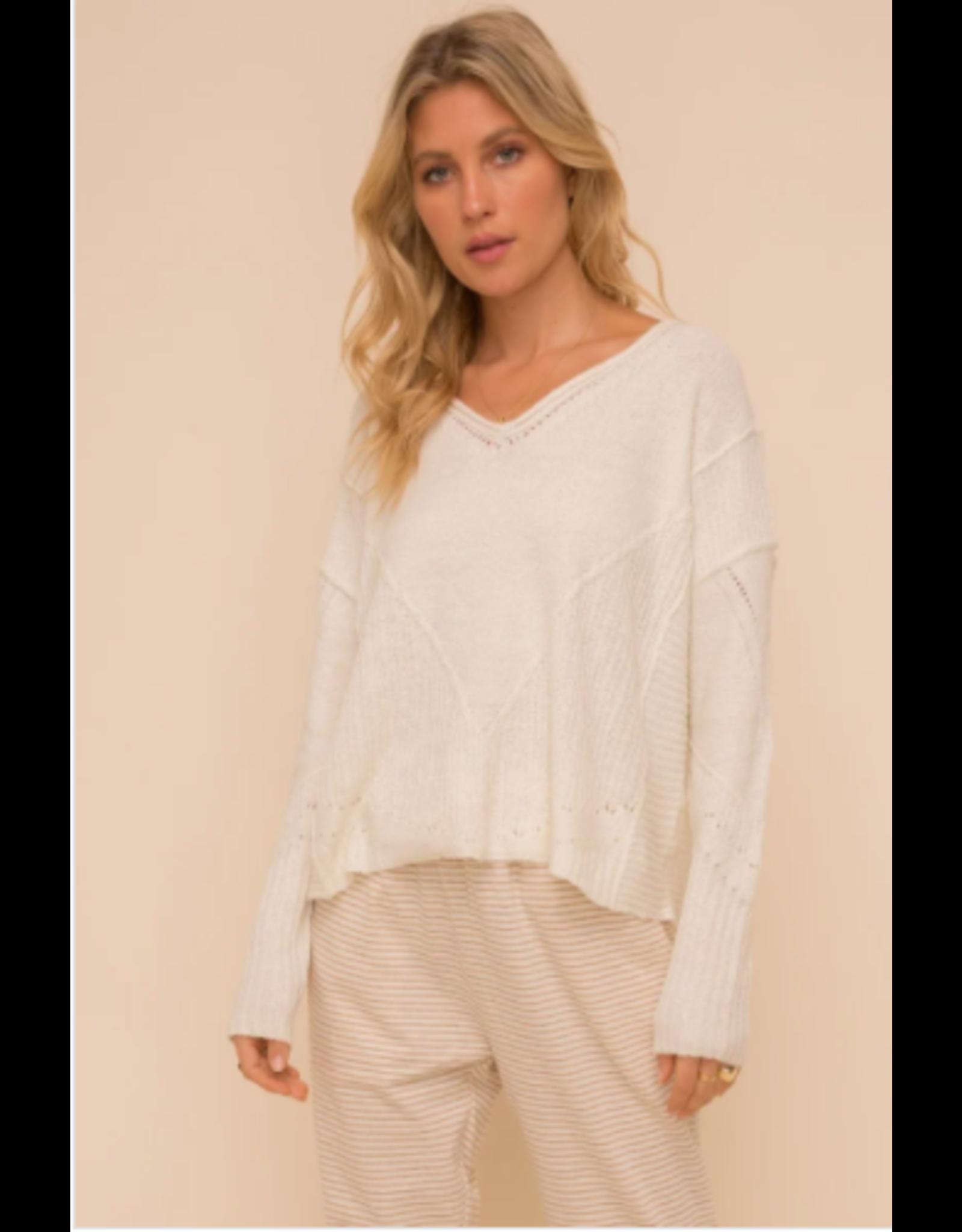 Mills - V neck oversized sweater