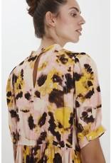 ICHI ICHI - Vauna midi length dress (super lemon)