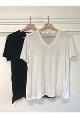 RD Style RD Style - Sevyn super soft v neck tee (white)