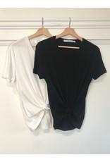 RD Style RD Style - Sevyn super soft v neck tee (black)