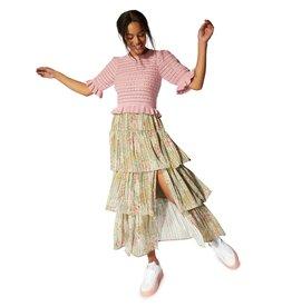 Mink Pink Mink Pink - Monet midi skirt