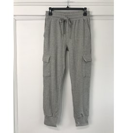 RD Style RD Style - Asher waffle knit cargo joggers (heather grey)