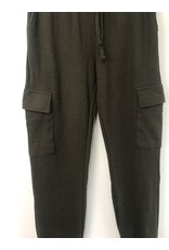 RD Style RD Style - Asher waffle knit cargo joggers (army)