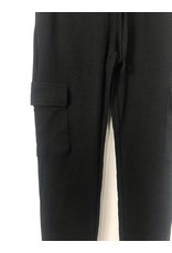 RD Style RD Style - Asher waffle knit cargo joggers (black)