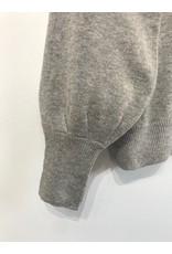ICHI ICHI - Halpa V neck sweater (grey)