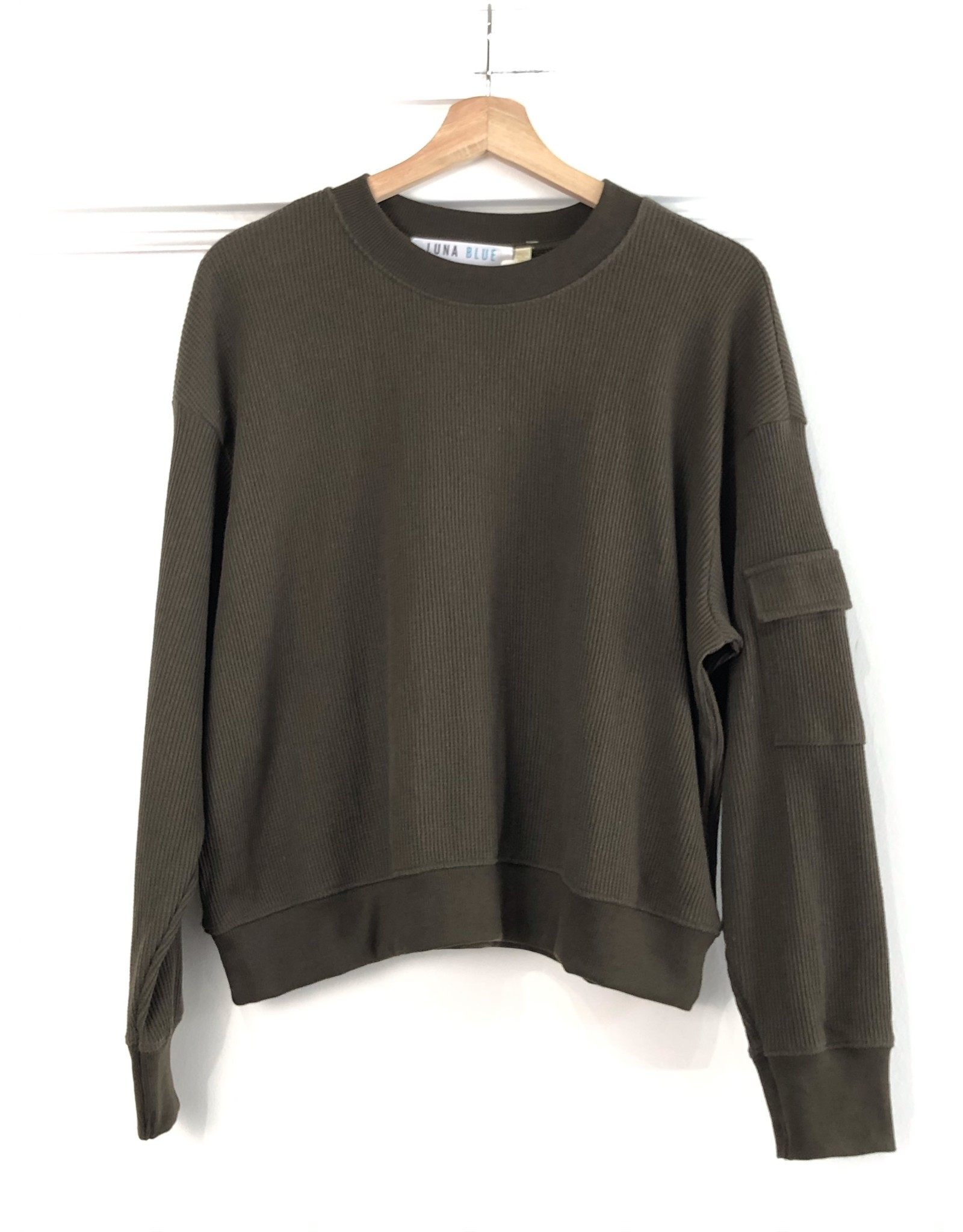 RD Style RD Style - Daphne knit pullover (army)