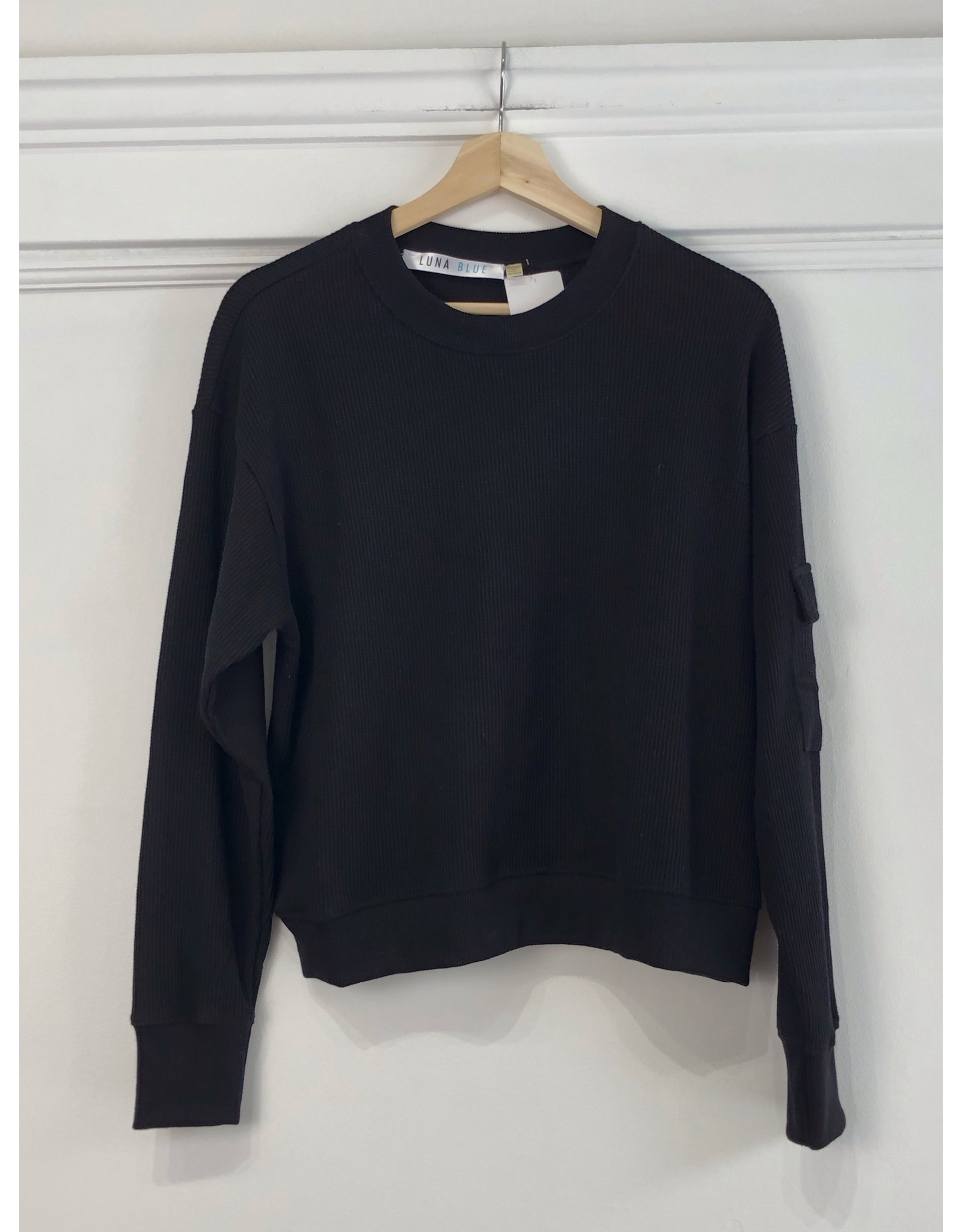 RD Style RD Style - Daphne knit pullover (black)