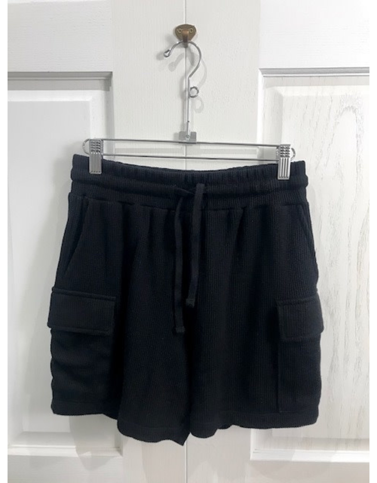 RD Style RD Style - Poppy waffle knit shorts (black)