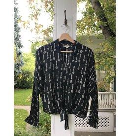 Mahila Kendall -  spoon print blouse