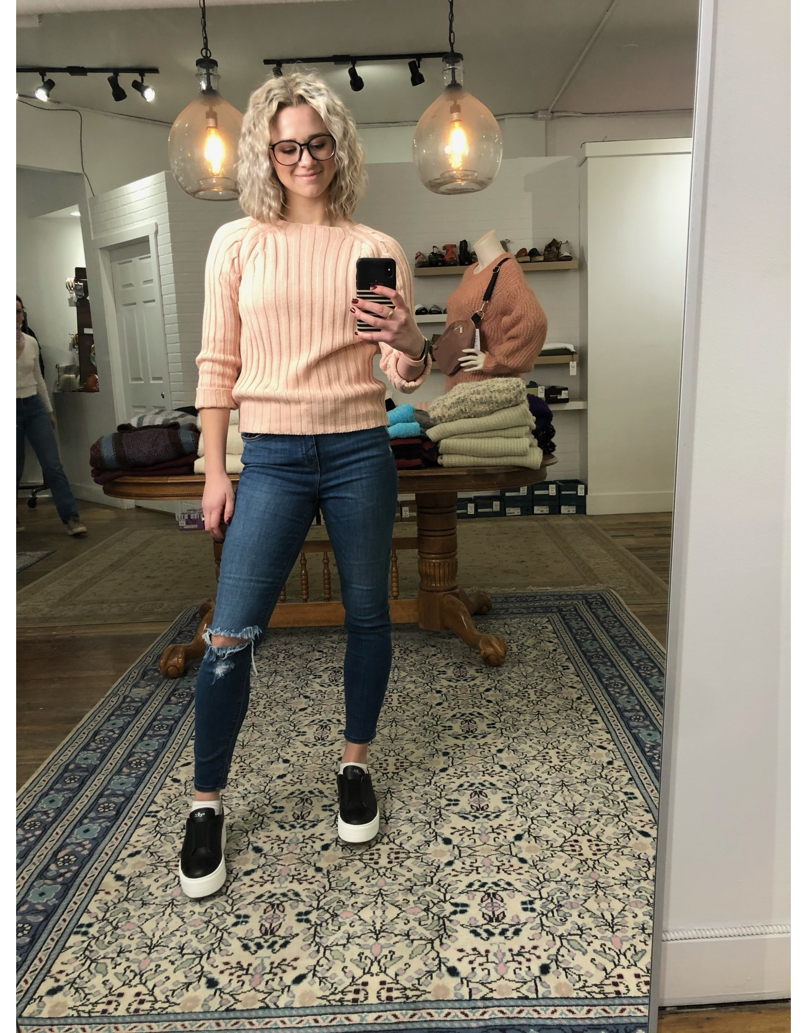 M - Made in Italy Made in Italy - Knit sweater (pink)